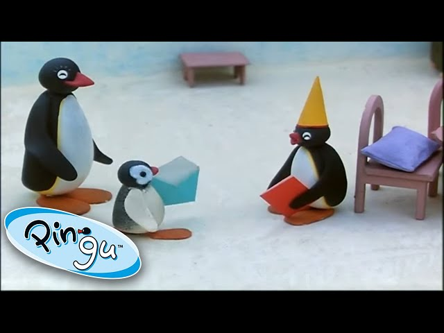 Pingu And The Yellow Hat!  @Pingu - Official Channel  | Cartoons for Kids