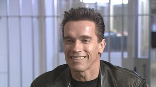 Flashback: Arnold Schwarzenegger Compares ET to the Terminator on the Set of 'Terminator 2'