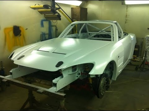 Honda S2000 Time Attack Car Build Project