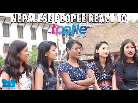 Nepalese People react to Mobile App (Tootle)