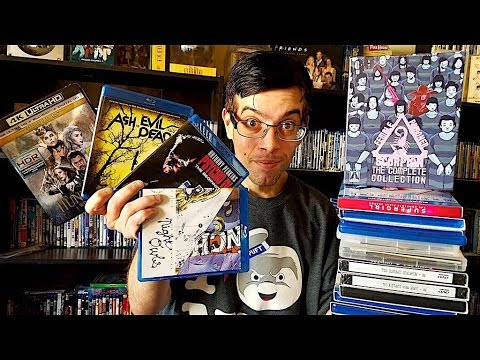 My Blu-Ray Collection Update 8/13/16 Blu ray and Dvd Movie Reviews