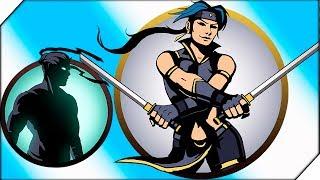 ЧЕРТОВКА ВЫМОТАЛА ТЕНЬ - Игра Shadow Fight 2 прохождение Бой с тенью (Шадоу файт 2)