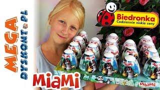 Miami • Krecik & Panda • Niespodzianki z jogurtów • Biedronka