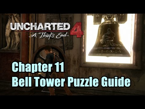 Uncharted 4 Chapter 11 Bell Tower Puzzle Guide