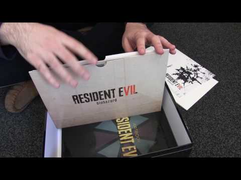Resident Evil 7 Collector's Edition Unboxing