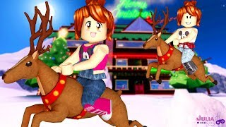 Roblox - VOAMOS NA RENA DO PAPAI NOEL (Christmas Tycoon 2)