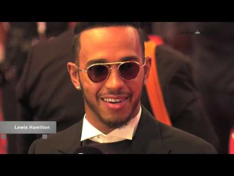 Laureus World Sports Awards 2016 - Roter Teppich in Berlin (HD)