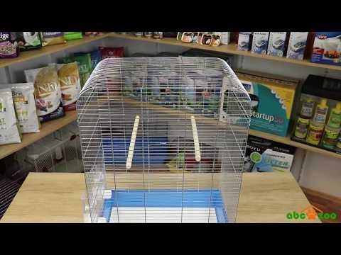 Parrot cage NINA chrome