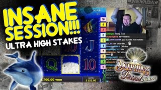 ULTRA HIGH Stakes Dolphins Pearl Bonuses!!!!!