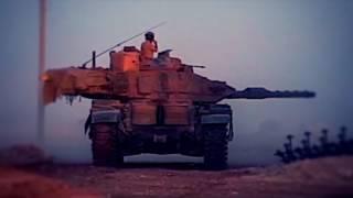 Türk Tankından DAEŞ Hedeflerine Atış