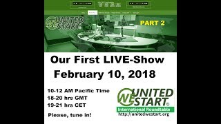 UNITED WE START: Our First UWS Roundtable Discussion 10th February 2018 Part 2