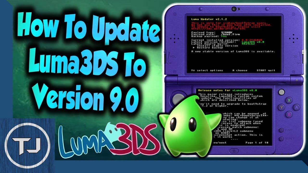 Luma 3ds Update