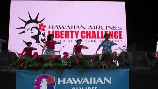 Hula  Aloha Ia O Waianae at  Hawaiian Airlines Festival