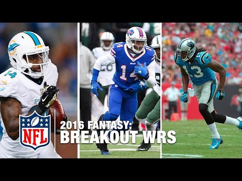 Top WR Fantasy Breakout Players of 2016 | NFL Fantasy