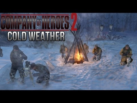 Company of Heroes 2 - Cold Weather on General - Theater of War Gameplay 2/2