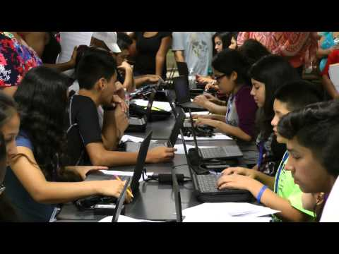 Early College High School Chromebook Distribution