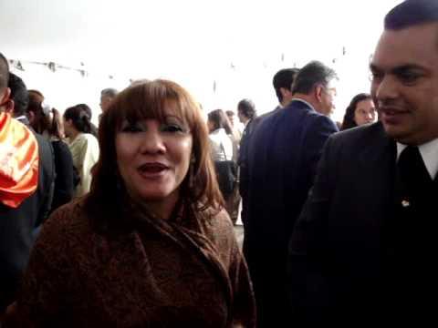 Paula y Johnny Matos saludan desde Bogotá!!