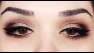 Valentines day Sexy eye make up tutorial