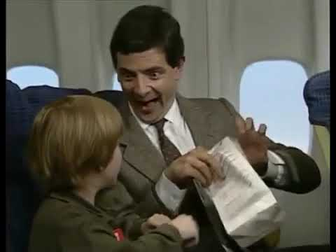 (The Plane) History Of Vomiting With Mr Bean - Air Sickness