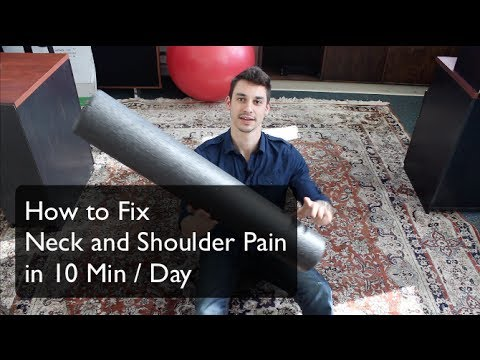 Neck and shoulder pain relief in 10 min by foam rolling - Alexander Heyne