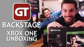 Thumbnail für GameTube Backstage: Xbox One Unboxing - Michis Konsole stirbt vor laufender Kamera