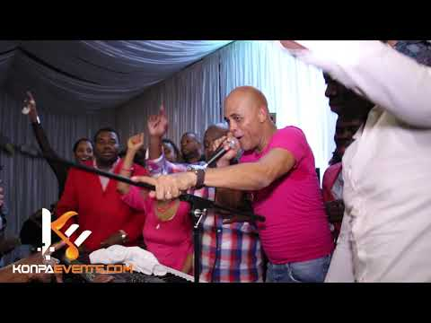 Michel Martelly & Sweet Micky  - Souke KO'w  Live Performance @ Le Fais Dodo in Atlanta | 10-1-16