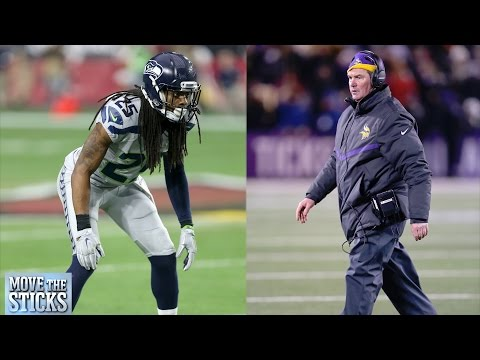 Can the Vikings upset the Seattle Seahawks? | 2015 NFC Wild Card Preview | Move the Sticks | NFL