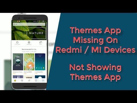 Solution! Themes App Missing on Redmi MI Devices || Themes App Not Showing  on Redmi MI Devices