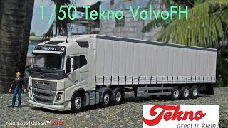 Tekno - 1/50 New Volvo FH16 GL 6X2 unboxing