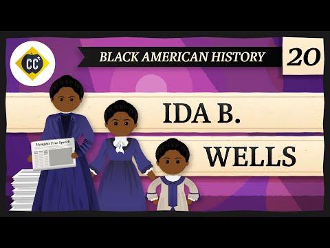 Ida B. Wells: Crash Course Black American History #20