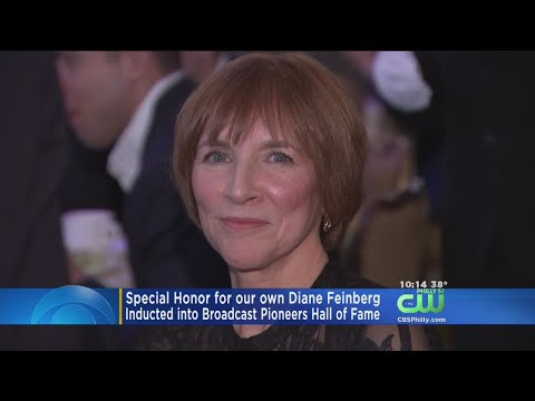 CBS3's Diane Feinberg Inducted Into Broadcast Pioneers Of Philadelphia Hall Of Fame