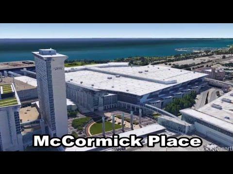 McCormick Place - Chicago - Illinois - Midwest - États-Unis - Salle multifonctionnelle