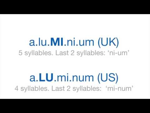 How To Pronounce 'Aluminium' in British English: Word Of The Day #13