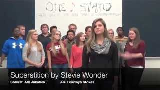 "The  One Note Stand at UMW - ""Superstition"" by Stevie Wonder"