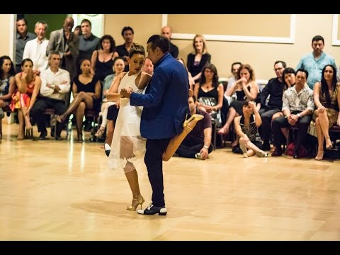 Milonga LAX, tango performance by Chicho Frumboli  & Juana Sepulveda (3), July 17 2015