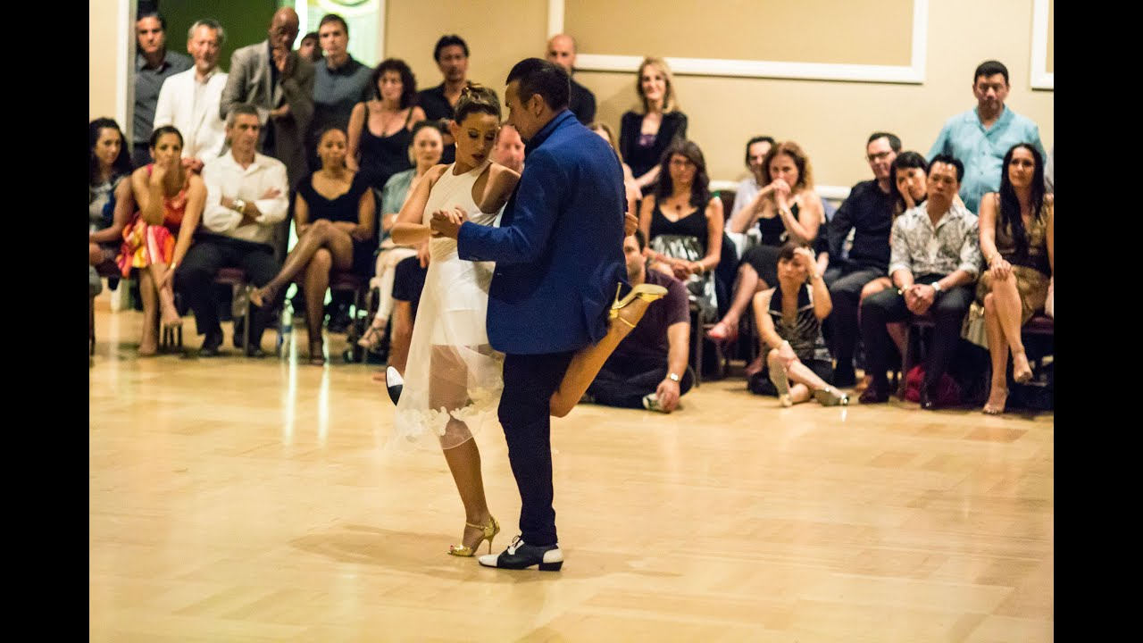 Milonga LAX Tango Performance By Chicho Frumboli Juana Sepulveda 3 July 17 2015