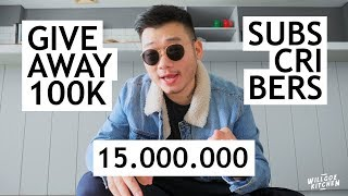 GIVE AWAY 100K SUBSCRIBERS - TERHARU AKUTUH.... thumbnail