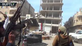 Turkish-backed FSA forces celebrate as Erdogan proclaims Afrin city center 'entirely under control' thumbnail
