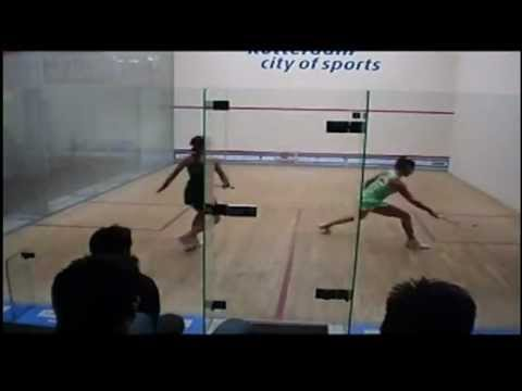 Samantha Terán vs Rachael Grinham / Women´s World Open 2011
