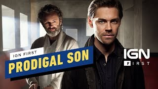 Get an exclusive sneak peek at the series premiere of fox's new thriller, prodigal son, starring michael sheen and walking dead's tom payne. premiering m...
