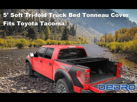 Install Review Oedro Soft Tri Fold Truck Bed Tonneau Cover For