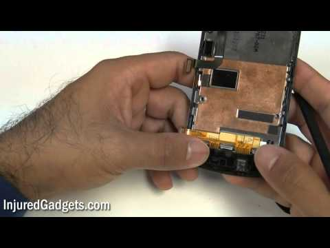 HTC MyTouch 4G (T-Mobile) Touch Screen Glass Digitizer & LCD Display Repair Replacement Guide