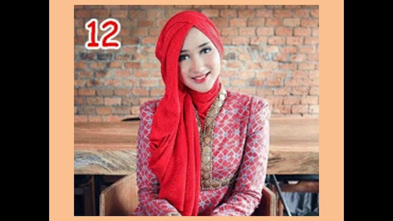 Tutorial Hijab Pesta Dian Pelangi Cara Memakai Jilbab Untuk Acara