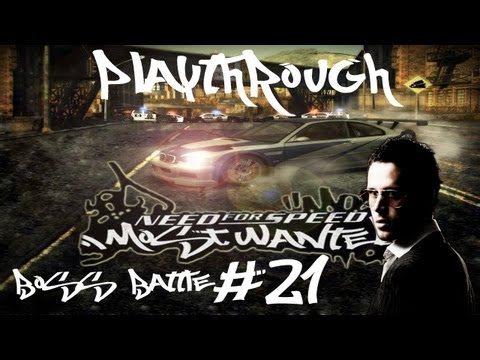 Need for Speed Most Wanted (2005) Black Edition Let's Play Eps.21 - Boss Battle #10 Blacklist Baron