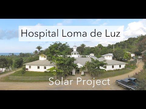 Solar Project for Hospital Loma de Luz