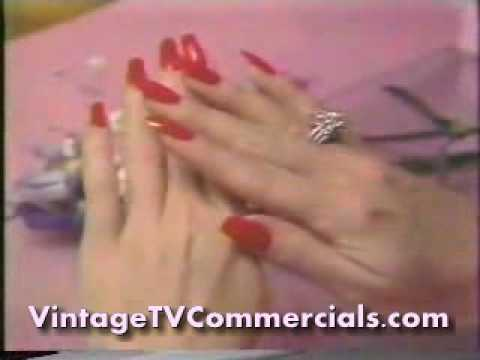 1985 Lee Press On Nails Commercial