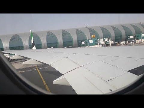Emirates B777-300er Dubai to Dammam