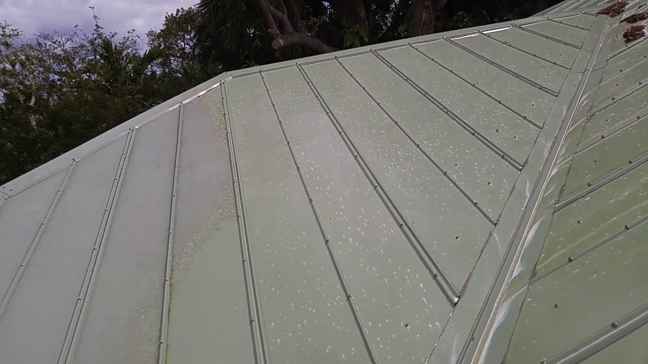 Soft Washing Metal Roof Cleaning West Palm Beach