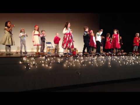 The Fredericksburg Academy 2016-17 Kindergarten Performs Jingle Bells