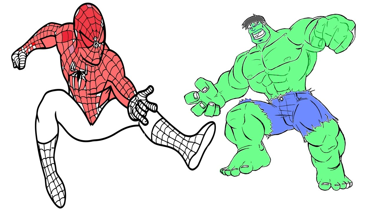 25 Popular Hulk Coloring Pages For Toddler | 720x1280